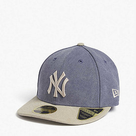 New Era, Daniel Arsham - Daniel Arsham x New Era 59fifty New York Yankees cotton baseball cap