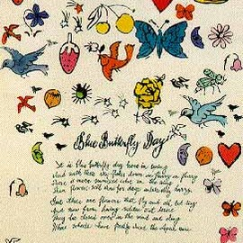 Andy Warhol - Blue Butterfly Day