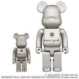 snowpeak, MEDICOM TOY - BE@RBRICK Snow Peak