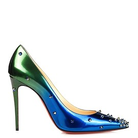 Christian Louboutin - Degraspike 100mm ombré stud-embellished pumps