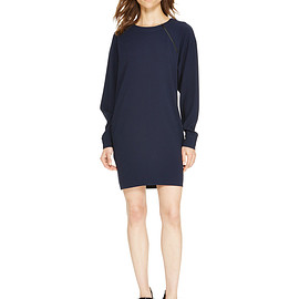 DKNY - Asymmetrical Zipper Dress