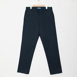 cup and cone - Custom Fit Chino Pants - Navy