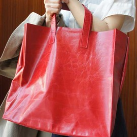 MARIE TURNOR - TRADER LEATHER TOTE