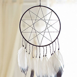 urban outfitters - Magical Thinking Double Star Dream Catcher
