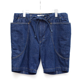 GDC - chambray gardening short pants