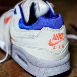 Nike, Size? - Air Max Light - Cream/Orange/Royal Blue