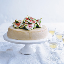 donna hay - ricotta cheesecake and moscato figs