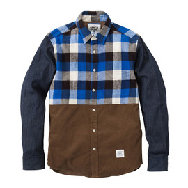 MR.GENTLEMAN - BUFFALO CHECK B.D SHIRTS