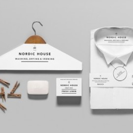 Anagrama (Mexico graphic design company) - Nordic House Dry-Cleaning Company Graphics