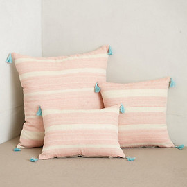 Anthropologie - Striped Linen Pillow