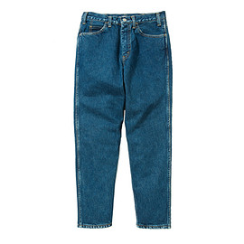 LIVING CONCEPT - TAPERED DENIM PANTS/INDIGO