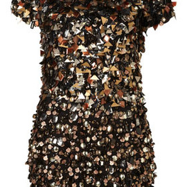 DRESS UP TOPSHOP - Spikey Embellished Playsuit