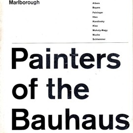 Marborough New London Gallery - Painters of the Bauhaus, Exhibition Catalog