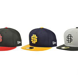 STANDARD CALIFORNIA, NewEra - NEW ERA×SD 59FIFTY Logo Cap Type4
