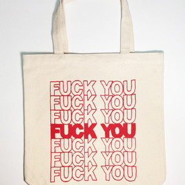 MADSAKI - FUCK YOU TOTE BAG
