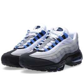 Nike - Air Max 95 White & Blue Spark