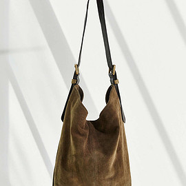 Urban Outfitters - Drapey Suede Hobo Tote Bag