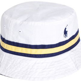POLO RALPH LAUREN - Polo Ralph Lauren Reversible Check Bucket Hat in White for Men - Lyst