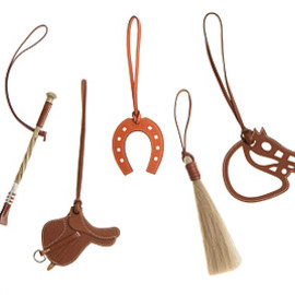 HERMES - the equestrian-themed charms