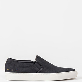Common Projects - Slip On Waxed Suede