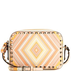 VALENTINO - Cruise 2016 Rockstud Native Couture 1975 leather shoulder bag