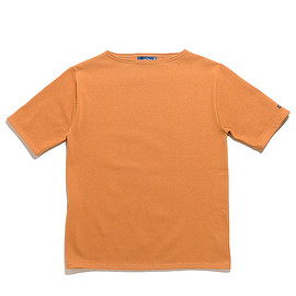 SAINT JAMES - Ouessant Light Short Sleeve-Sienne