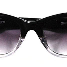 STUSSY - Oyster Black/Clear