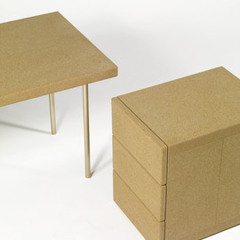 "Martin Szekely - Cork Collection, ""Simple Box"""
