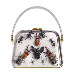 PRADA, Damien Hirst - collaboration Entomology bag