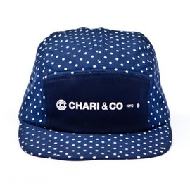 CHARI & CO NYC - chari and co polka dot 5 panel cap