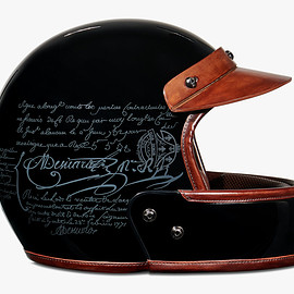 Berluti - Leather helmet