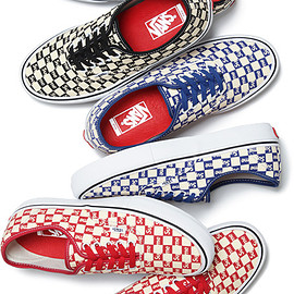 Supreme, VANS - Checker Logo Authentic Pro