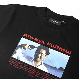 wasted - T-Shirt Always Faithful Noir
