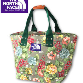 THE NORTH FACE PURPLE LABEL - FLOWER TOTE