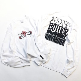 Powers Supply x Verdy - WASTED YOUTH L/S TEE