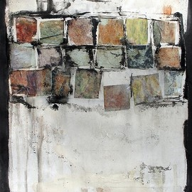 Scott Bergey - That Song, acrylic on paper