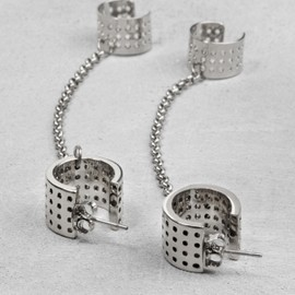 & OTHER STORIES - CUFF CHAIN EARRINGS