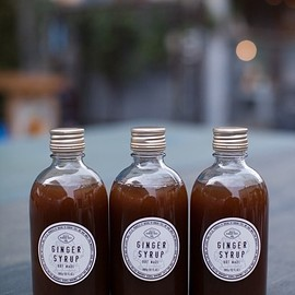 HAND CRAFTED IN TOKYO. JAPAN - BRF MADE GINGER SYRUP 360g