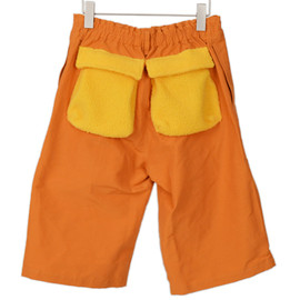 diddlediddle - Boa Pocket Half Pants(ORANGE)