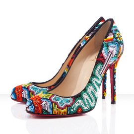 Christian Louboutin - Summer 2012 Shoes for Arrow, with Beads
