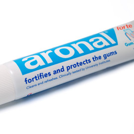 gaba international/ aronal - aronal forte toothpaste