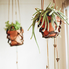 Make Smith - Leather Plant Hanger