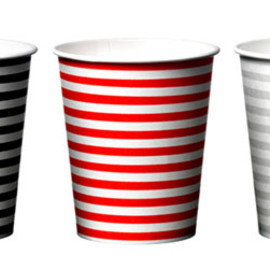 """Sunnap - ASKUL Limited Paper Cup """"Stripe"""" ~previous design~ (Designed by BVD) アスクル限定"""