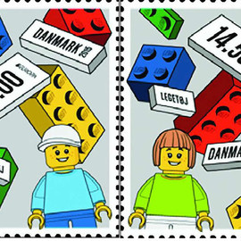 Post Denmark - LEGO Stamp