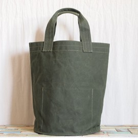 GOOD WEAVER - VULCANIZED CLOTH BUCKET 30L #olive