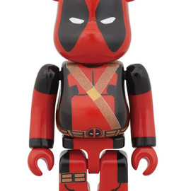MEDICOM TOY - BE@RBRICK DEADPOOL 100%