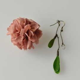 moncRo - ajisai pierce (rose)