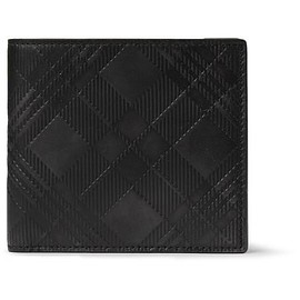 Thom Browne - Embossed Textured-Leather Billfold Wallet