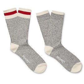 Beams Plus - Two-Pack Ribbed Cotton-Blend Socks