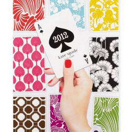 kate spade NEW YORK - 2012 wall calendar